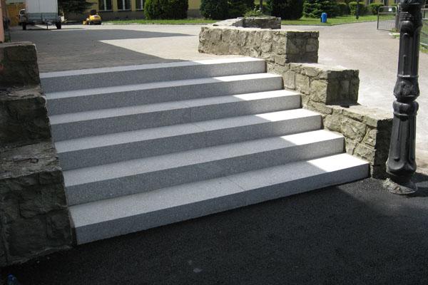 Wyremontowane schody