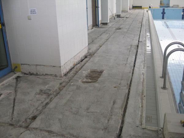 remont plaży basenowej