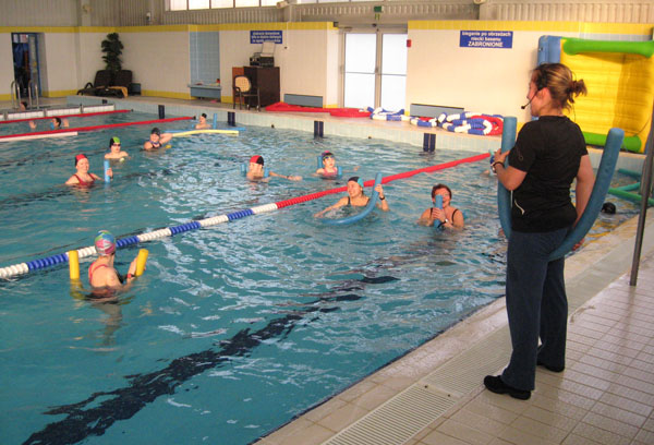 zajęcia aqua aerobik