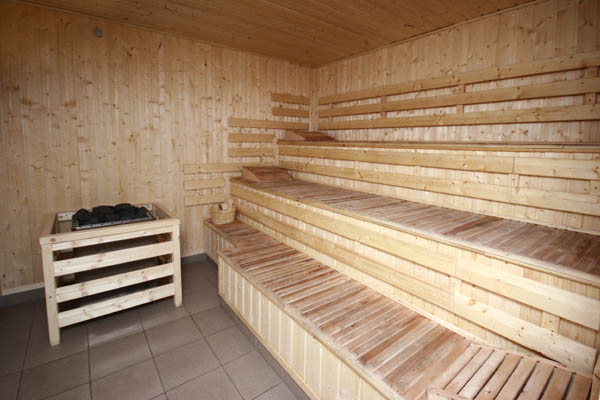 Sauna przy ul. Lompy