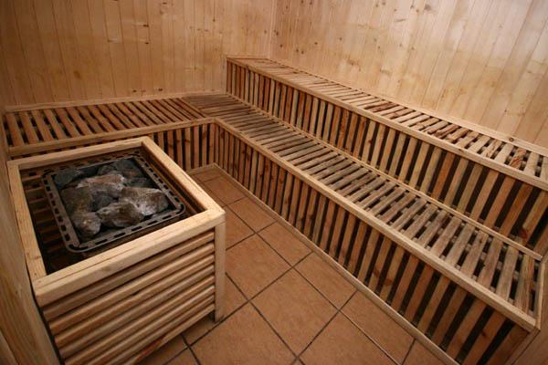 sauna przy ul. Odległej