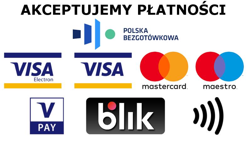 akceptowalne płatności na obiektach
