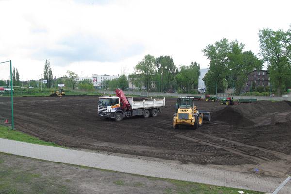 remont nawierzchni boiska przy ul. Wolności