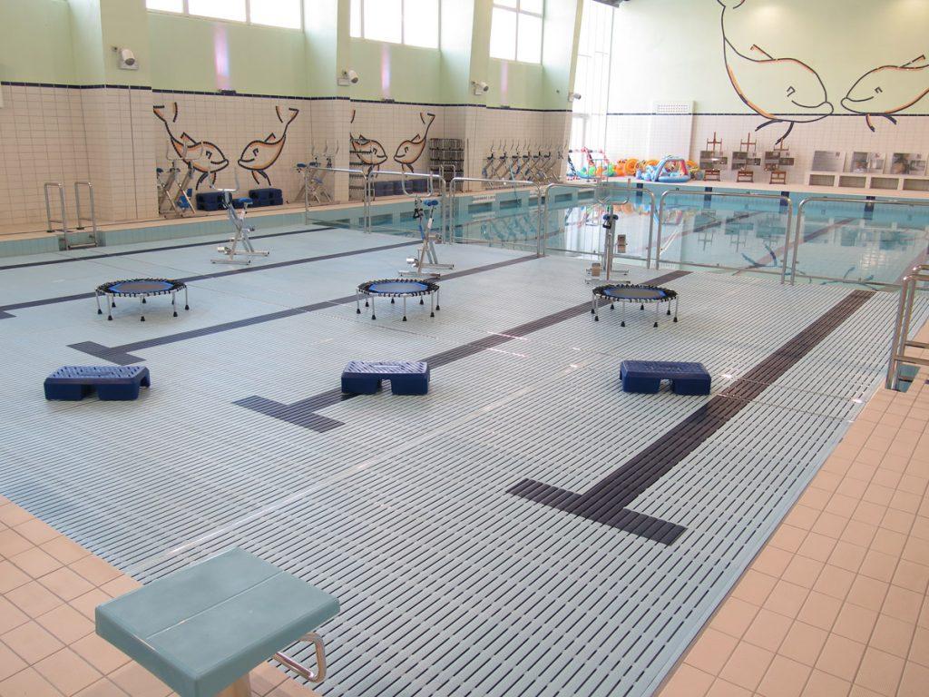 Wyremontowany basen - ruchome dno.
