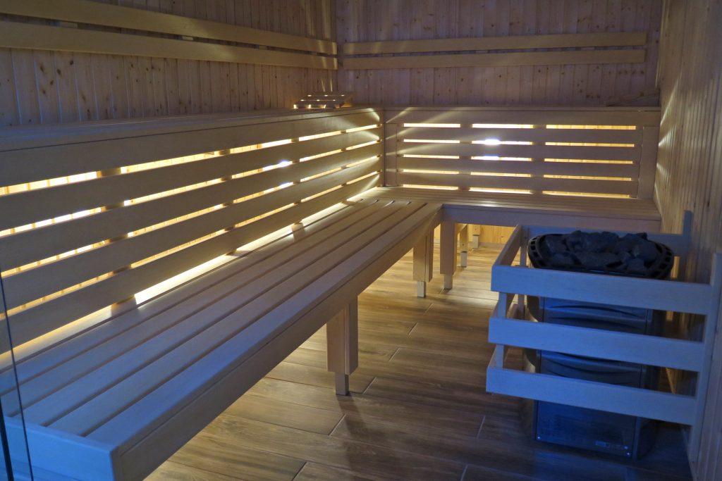 Sauna sucha.