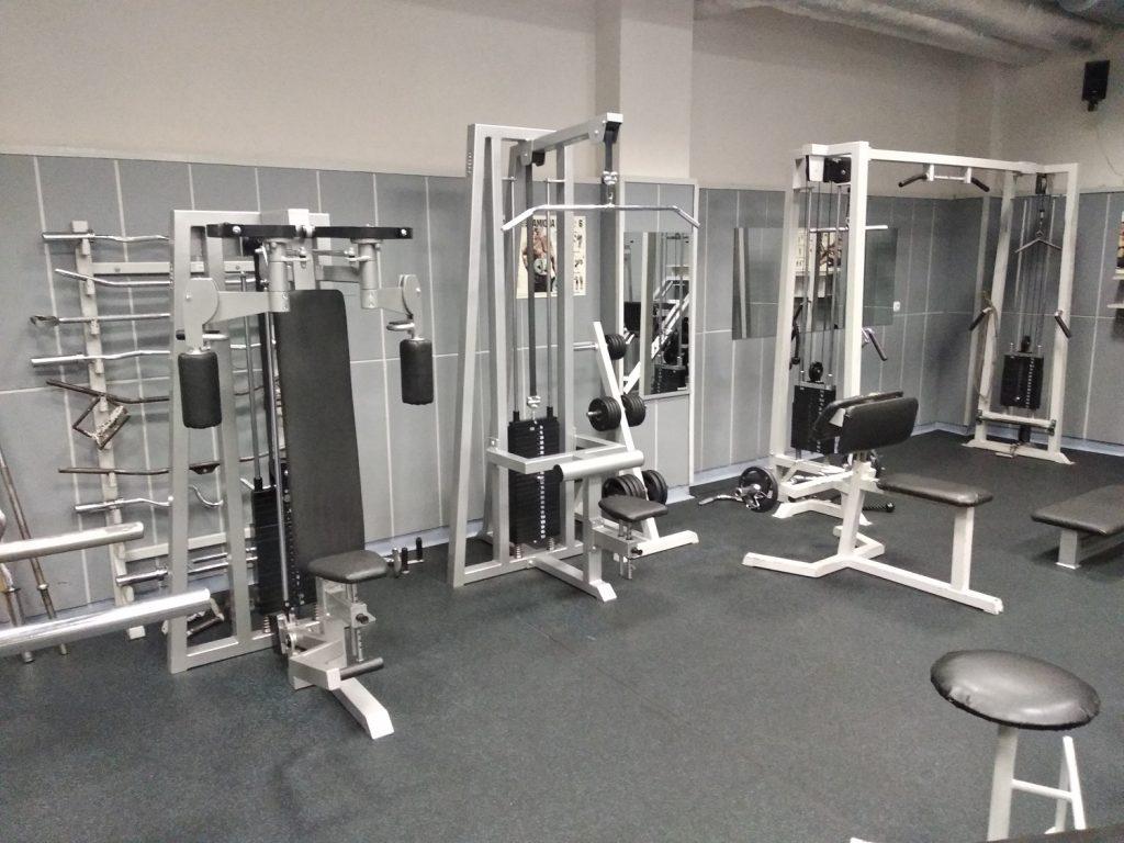 maszyny na siłowni