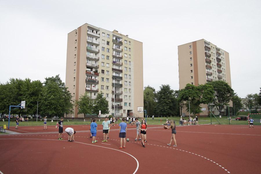 boisko tartanowe ul. Młodzieżowa