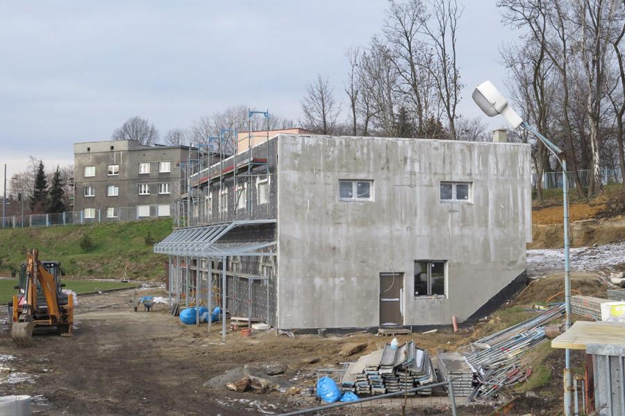 Kresy - nowy budynek.
